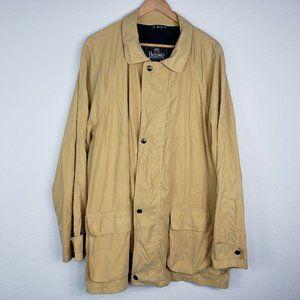 Vtg 1973 Herno Classico Europo Yellow Rain Jacket